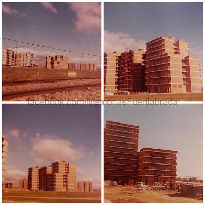 La Urbanización de El Camino en obras en 1977