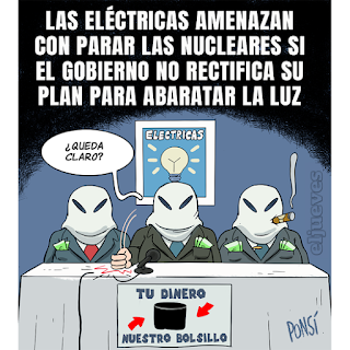 El debate sobre el precio de la luz.
