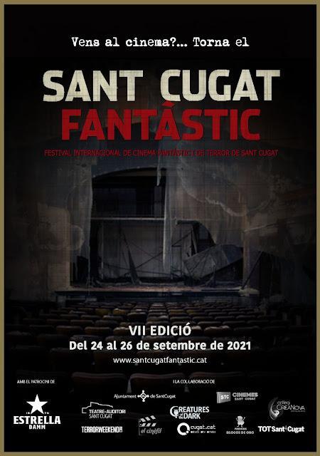 Cobertura Festival Cine Fantástico y de Terror Sant Cugat 2021