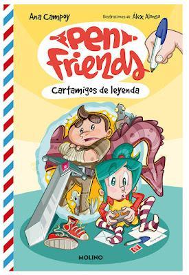 OPINIÓN DE PEN FRIENDS 1. CARTAMIGOS DE LEYENDA DE ANA CAMPOY