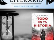 Candidatos premio literario amazon 2021:todo historia g.g. velasco