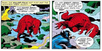 Supersaurios (III): Devil Dinosaur
