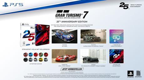 Gran Turismo 7 tendrá edición especial 25 aniversario