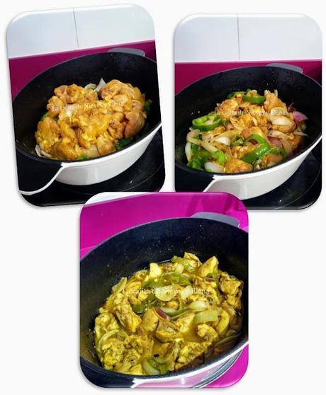 Pollo en salsa diabólica al horno en cocotte
