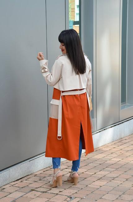 Gabardina multicolor | SHEIN X: Rock the Runway