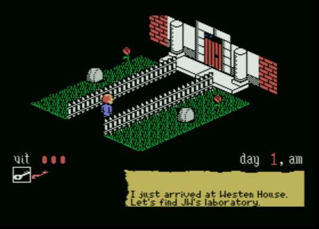 [Homebrew] Westen House (MSX)