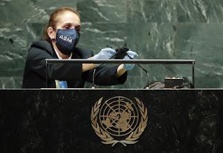 La voz de Cuba al discurso de Biden en la UNGA76