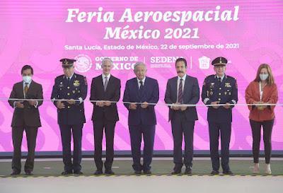 EMPRESAS DE 47 PAÍSES EN LA FERIA AEROESPACIAL MÉXICO 2021