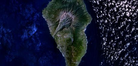 El volcán de Palma de Gran Canaria