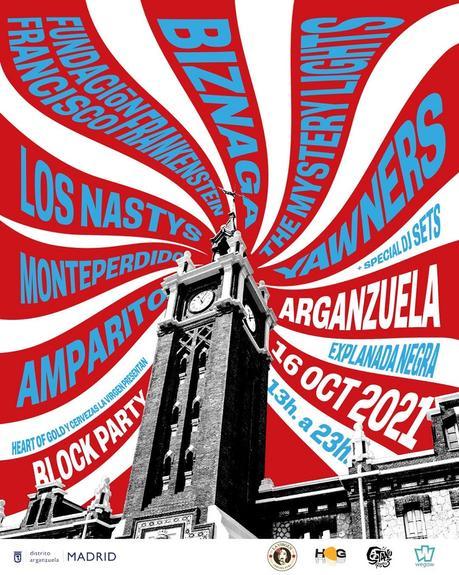 Block Party Arganzuela: festival en Madrid Río