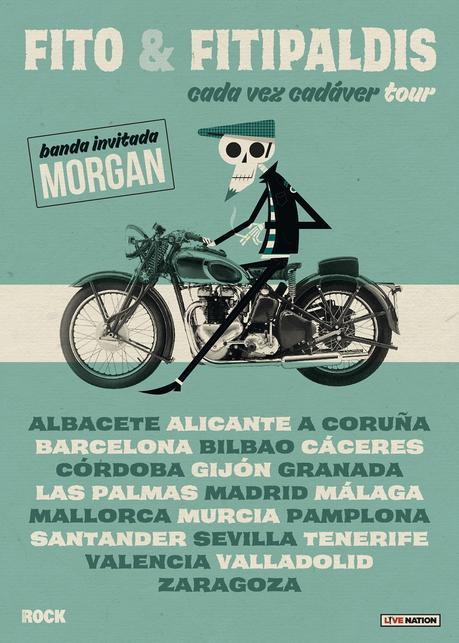 Fito & Fitipaldis: gira de conciertos por España en 2022