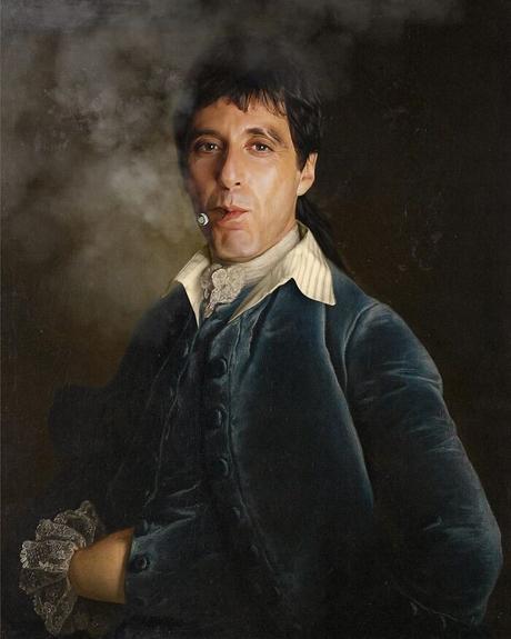 Este artista francés transformó a celebridades y personajes en pinturas clásicas (30 imágenes)