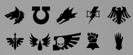 Iconos y mas de Warhammer