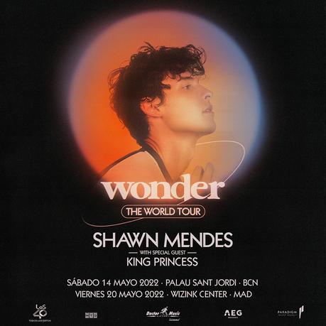Conciertos de Shawn Mendes en España en mayo de 2022