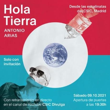 Ciencia, música y poesía con Antonio Arias en el CSIC