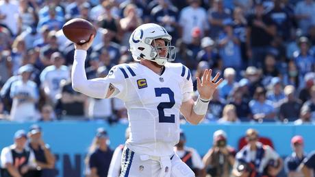 QB Carson Wentz, Indianapolis Colts