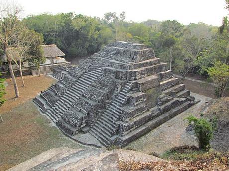 Ruinas mayas de Yaxhá, Guatemala