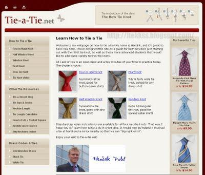 Tie a Tie - Aprende como hacer distintos nudos de corbata