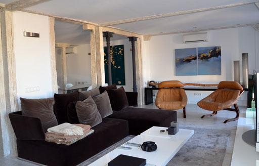 A cero presenta el interiorismo de un c ntrico piso en - Interiorismo en madrid ...