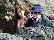 Primeras fotos Johnny Depp como vampiro Barnabas Collins 'Dark Shadows'