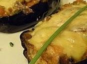 Berenjenas rellenas calabaza anchoas