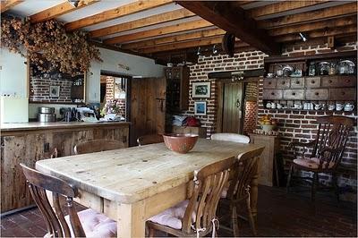 Casas de campo rusticas paperblog for Decoracion cocinas rusticas campo