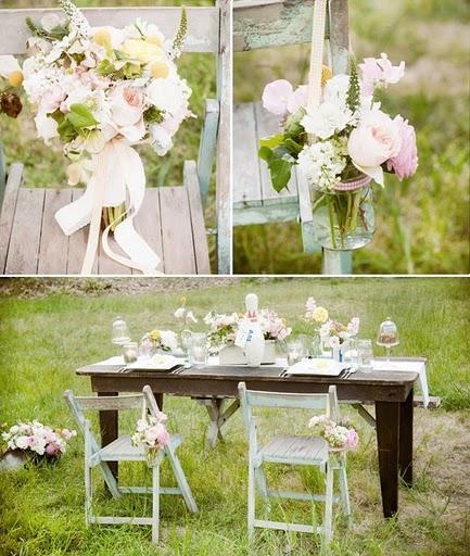 boda vintage en el jard n paperblog