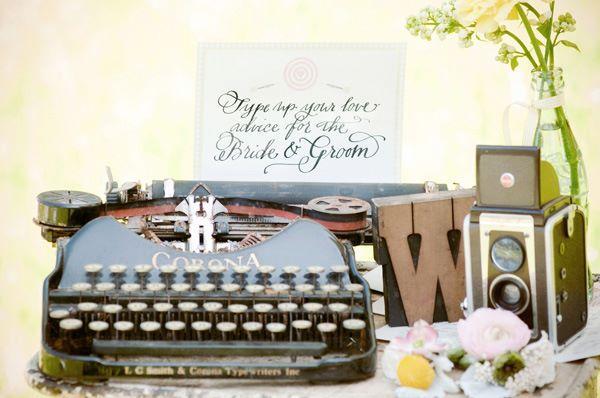 boda vintage en el jardn