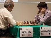 Kasparov vuelta tablero' Clichy (Francia) 2011