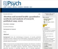 Comprobaron que el aborto lleva al suicidio y causa daños psicológicos