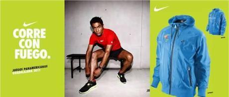 Nike enciende el espíritu de los XVl Juegos Panamericanos de Guadalajara 2011