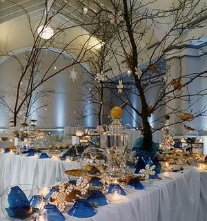 Decoraci n para bodas de oto o invierno paperblog for Decoracion invierno
