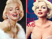 Michelle Williams como Marilyn Monroe Vogue octubre