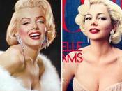 Michelle Williams como Marilyn Monroe Vogue octubre