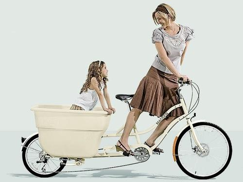 Madsen cycles para salir a pasear con los ni os paperblog - Silla bebe bicicleta delantera ...
