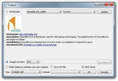 Tuxboot - Crea unidades USB de arranque