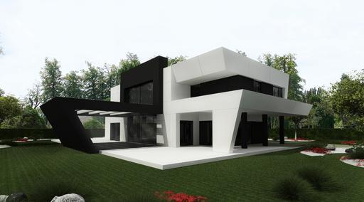 A cero presenta el proyecto para la reforma exterior de for Casas modernas unifamiliares