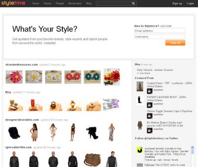 Stylehive - Marcador social orientado a las compras