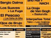 Cartel conciertos Interpeñas Zaragoza 2011