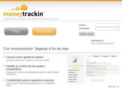 Moneytrackin - Herramienta para contabilizar sus proyectos, gratuita