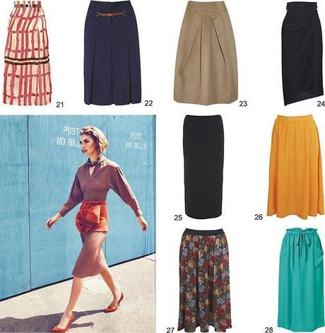 Would you wear it?: falda midi