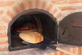 Pan tipo montejos le n en horno de le a paperblog - Como hacer horno de lena ...