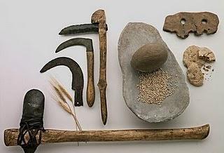 Herramientas agrícolas del neolítico