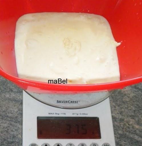 Crema de leche o nata casera para cocinar