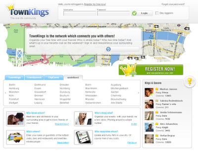 Townkings - Comunidades basadas en mapas virtuales