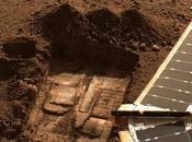 Lubricante glacial Marte potencial combustible para cohetes