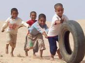 Peligran vacaciones niños saharauis