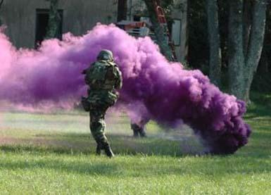 Bomba de humo casera