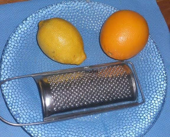 Esencia de limon y naranja casera... y como rallar