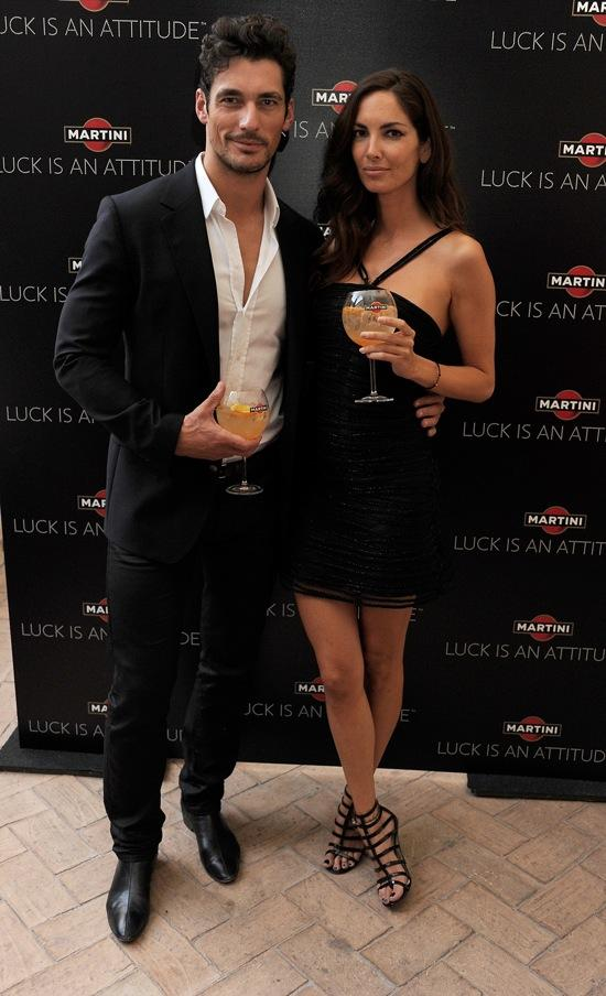 david gandy eugenia silva MARTINI - LUCK IS AN ATTITUDE Party